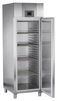 601 literes hűtő, ventilációs hűtéssel, teli ajtóval