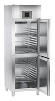 597 literes hűtő, ventilációs hűtéssel, osztott teli ajtóval, egy légtérrel
