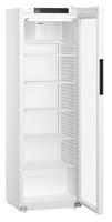 400 literes hűtő, ventilációs, fehér, üvegajtós