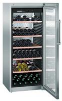 478 literes borhűtő (borklíma), 1 hőmérsékleti zónával, rozsdamentes acél burkolattal