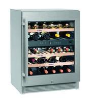 123 literes borhűtő (bortemperáló), 2 hőmérsékleti zónával