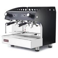félautomata 2 karos kávégép csészemelegentartóval és vízlágyítóval