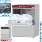 mosogatógép, 500x500 mm-es, 60/24 kosár/órás, duplafalú, 400 V-os