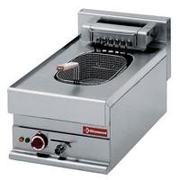blokkba építhető asztali elektromos 1x10 literes fritőz, 7,5 kW-os