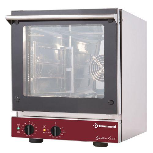 elektromos légkeveréses sütő, 4x GN 2/3  tálcás