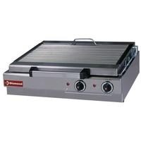 elektromos asztali grillsütő, sütőrács mérete: 600x340 mm
