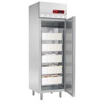 400 literes hűtő halakhoz, ventilációs, teleajtós, rozsdamentes