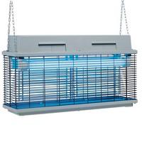 elektromos UV fényes rovarcsapda, 15-18 m hatótávval