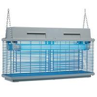 elektromos UV fényes rovarcsapda, 10-12 m hatótávval
