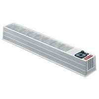 asztali mobil feltéthűtő, 8*GN 1/6 kapacitással, +2/+10°C