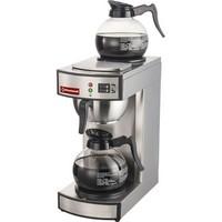 kávégép hosszúkávéhoz, 1 kifolyóval, 2 melegentartólappal, manuális vízfeltöltéssel