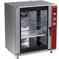 elektromos légkeveréses cukrászati sütő, 10 tálcás, automatikus párásítással