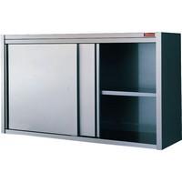 fali szekrény, 2 tolóajtóval, 1600 mm-es