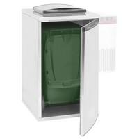 hűthető hulladéktároló hűtőegység nélkül, 1 konténerhez