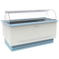 fagylalt hűtőpult, 13+16 tégelyes (5 literesből)