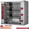 elektromos grillcsirke sütő, 3 nyárs/9 csirke kapacitással